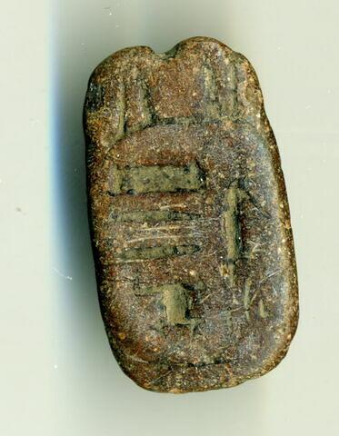 scaraboïde ; sceau