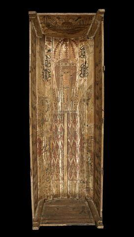 cercueil rectangulaire à poteaux d'angle