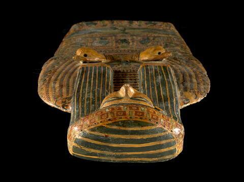 détail ; vue plongeante ; partie supérieure © 2011 Musée du Louvre / Georges Poncet