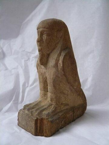 vue d'ensemble ; trois quarts gauche © 2010 Musée du Louvre / Antiquités égyptiennes