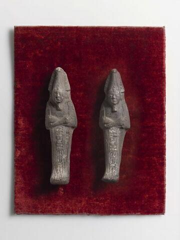 face, recto, avers, avant ; vue groupée © 2014 Musée du Louvre / Hervé Lewandowski