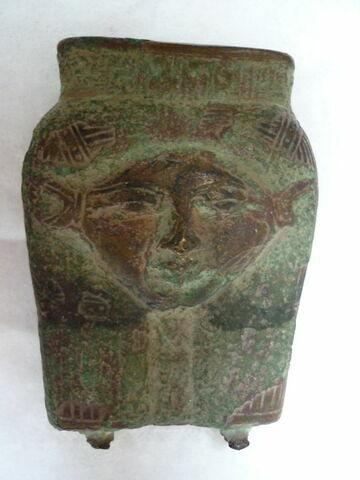 vue d'ensemble ; face A, face 1 © 2013 Musée du Louvre / Antiquités égyptiennes