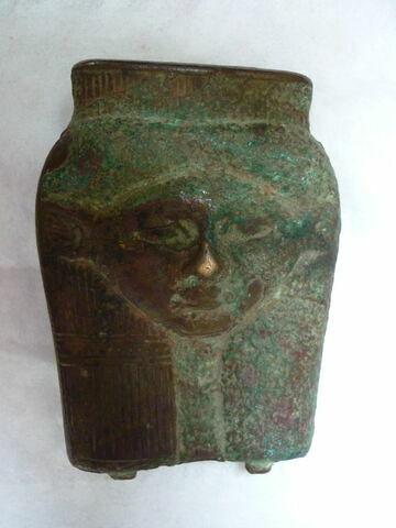 vue d'ensemble ; face B, face 2 © 2013 Musée du Louvre / Antiquités égyptiennes