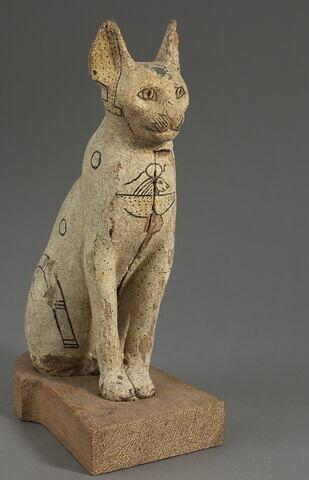 cercueil ; sarcophage de chat