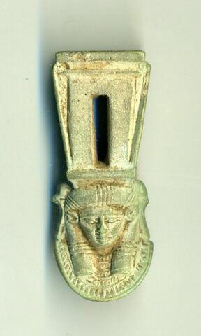 sistre à naos  ; amulette