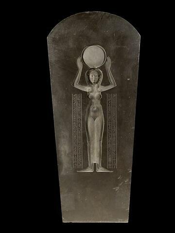 sarcophage à cuve en cartouche