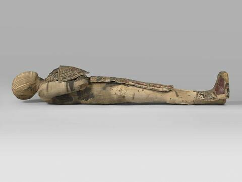 momie d'homme ; enveloppe de momie en cartonnage ; bottes de momie