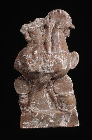figurine d'Harpocrate cavalier