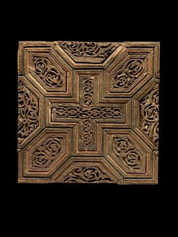 panneau décoratif  ; clôture de chœur