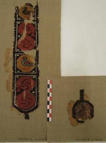 vue d'ensemble ; éléments séparés © 2018 Musée du Louvre / Antiquités égyptiennes
