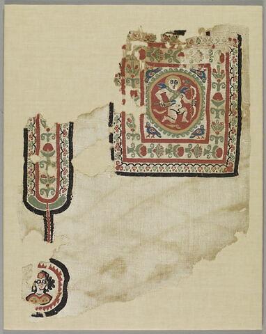 tabula ; bande décorative d'habillement