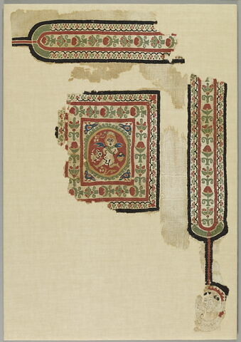 bande décorative d'habillement ; tabula