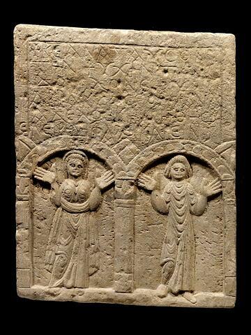 stèle funéraire ; stèle de type Kom Abou Billo