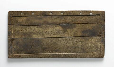tablette de scribe ; reliure