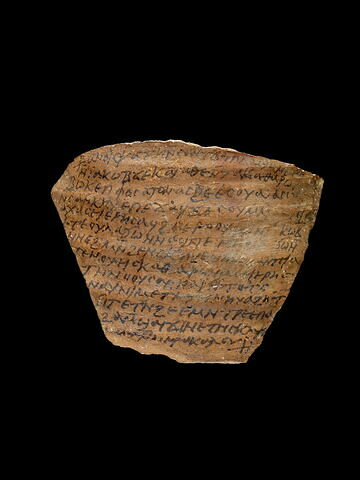 ostracon ; Lettre de Psaté à Jacob