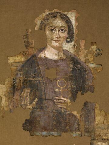 détail ; face, recto, avers, avant © 2012 Musée du Louvre / Georges Poncet