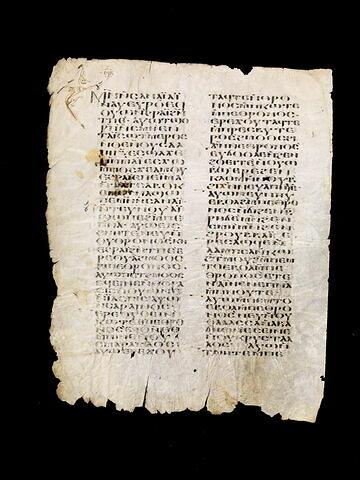 parchemin ; Codex du monastère Blanc