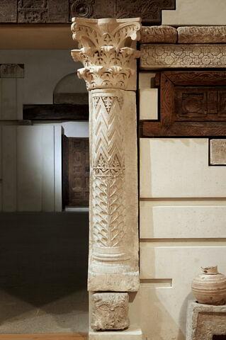colonne engagée