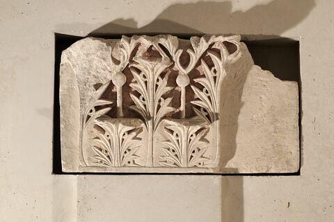 chapiteau de pilastre ; architecture