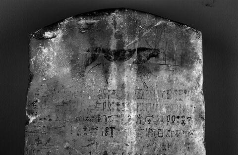 face, recto, avers, avant ; partie supérieure © 2013 Musée du Louvre / Christian Décamps