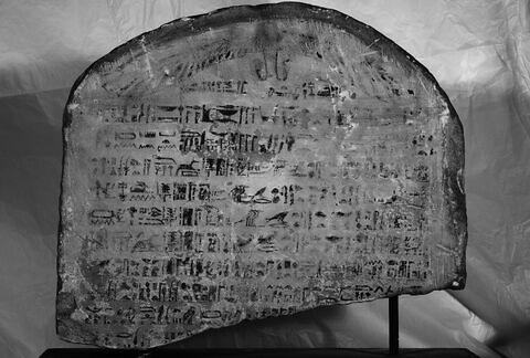 face, recto, avers, avant ; vue d'ensemble © 2013 Musée du Louvre / Christian Décamps