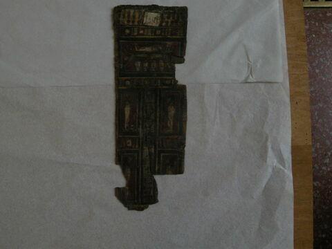 enveloppe de momie en cartonnage ; garniture de momie ; plastron de momie