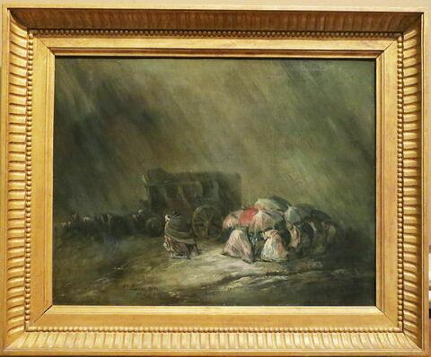 La Diligence sous l'orage