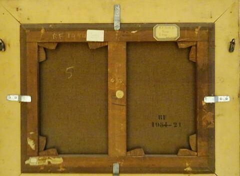 face, recto, avers, avant ; vue avec cadre ; vue d'ensemble © 2019 Musée du Louvre / Peintures
