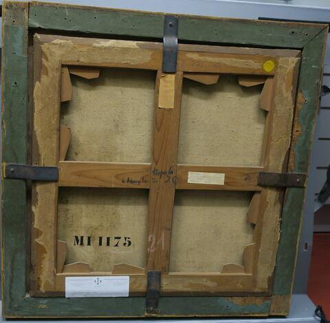 cadre ; châssis ; dos, verso, revers, arrière © 2019 Musée du Louvre / Peintures