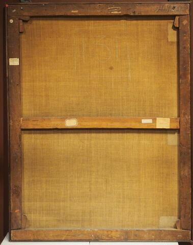 vue d'ensemble ; dos, verso, revers, arrière © 2018 Musée du Louvre