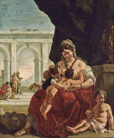 face, recto, avers, avant ; vue d'ensemble © Musée du Louvre / Guy Roumagnac