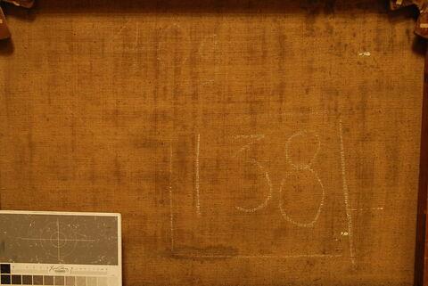 dos, verso, revers, arrière ; détail inscription © 2017 Musée du Louvre