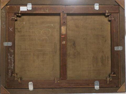 dos, verso, revers, arrière © 2019 Musée du Louvre / Peintures