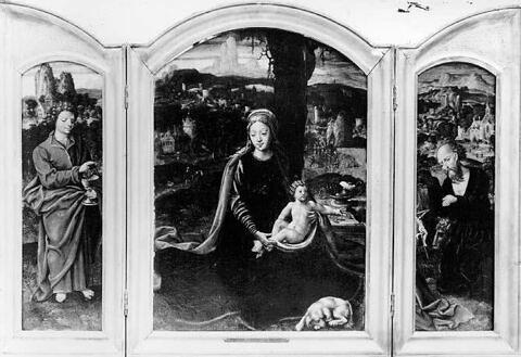 face, recto, avers, avant ; vue d'ensemble ; vue avec cadre © RMN-Grand Palais (musée du Louvre)