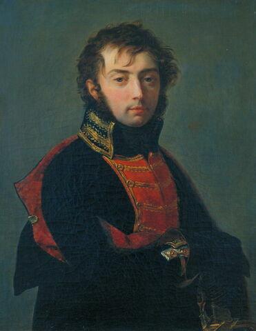 Portrait d'un officier, dit aussi Portrait présumé du général Barthélémy Joubert (1769-1799)