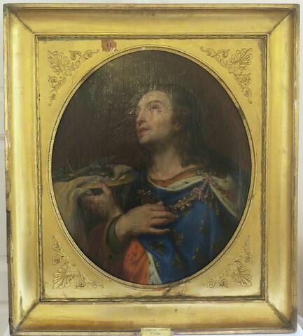 face, recto, avers, avant ; vue d'ensemble ; vue avec cadre © 2019 Musée du Louvre / Peintures
