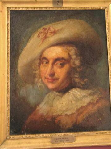 Portrait d'acteur en costume de berger