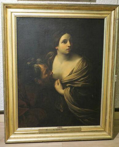 vue avec cadre ; face, recto, avers, avant © 2019 Musée du Louvre / Peintures