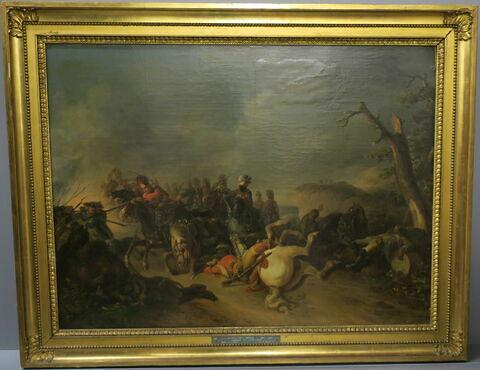Hussards au combat (Combat de cavalerie)
