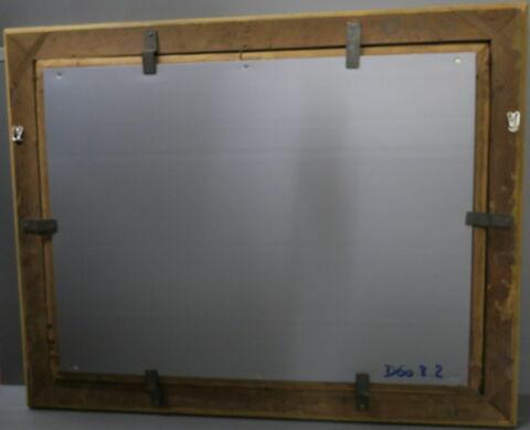 dos, verso, revers, arrière ; cadre ; châssis © 2019 Musée du Louvre / Peintures