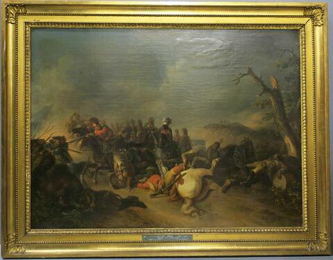 Hussards au combat