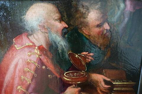 face, recto, avers, avant ; face B, face 2 ; détail © 2020 Musée du Louvre / Peintures
