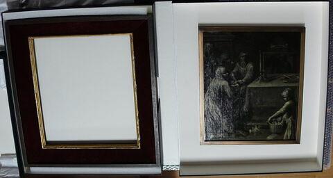 face, recto, avers, avant ; face A, face 1 ; vue avec montage © 2020 Musée du Louvre / Peintures