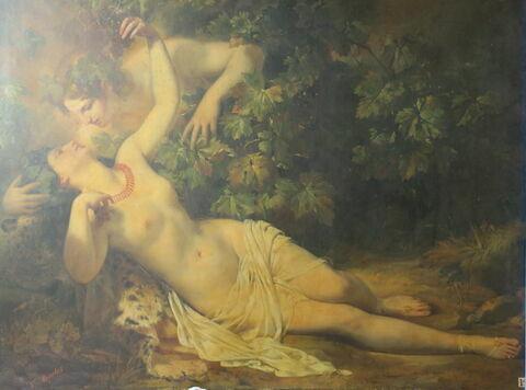 Bacchus et Érigone