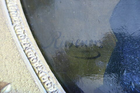 détail signature ; face, recto, avers, avant © 2019 Musée du Louvre / Peintures