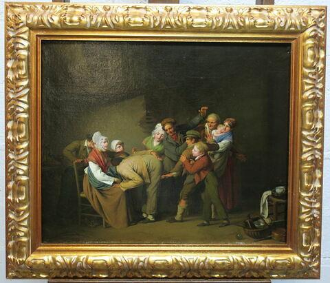 vue d'ensemble ; face, recto, avers, avant © 2019 Musée du Louvre / Peintures