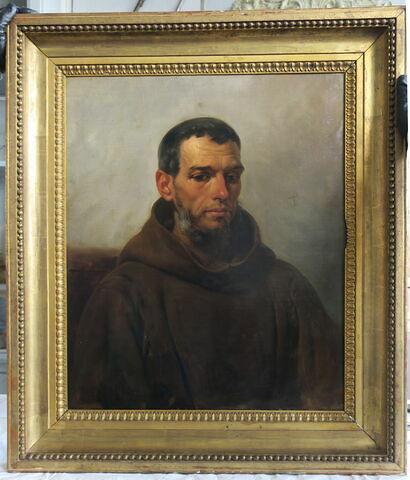 Portrait de moine
