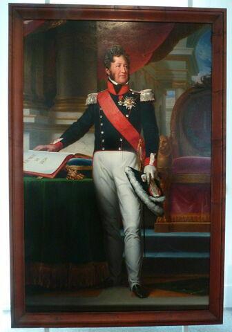Portrait en pied de Louis-Philippe