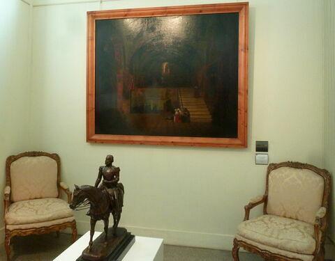 vue d'ensemble ; vue de l'objet en situation ; face, recto, avers, avant © 2019 Musée du Louvre / Peintures