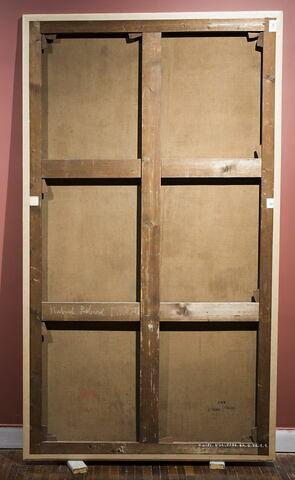 dos, verso, revers, arrière ; vue d'ensemble © Musée du Louvre